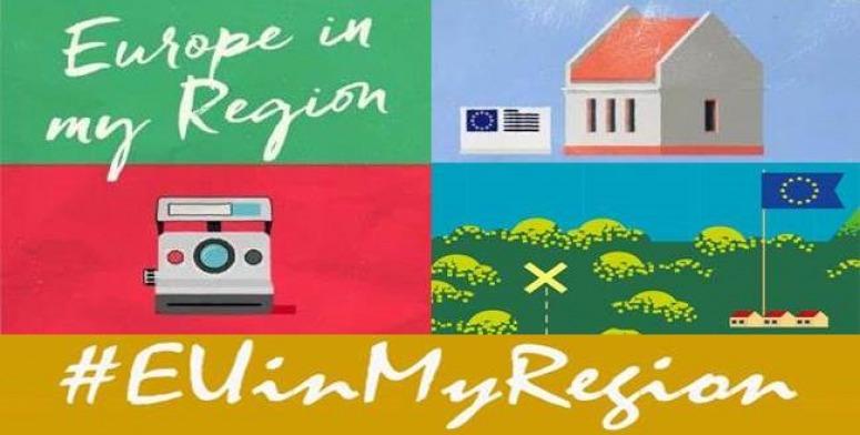 """Iesaisties kampaņā """"Eiropa manā reģionā"""" un laimē lieliskas balvas"""