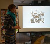 Andžeja Grauda bungu skola stāsta par sevi — pieejamas ne tikai nodarbības