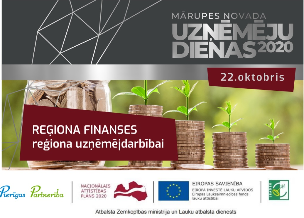 REĢIONA FINANSES reģiona uzņēmējdarbībai
