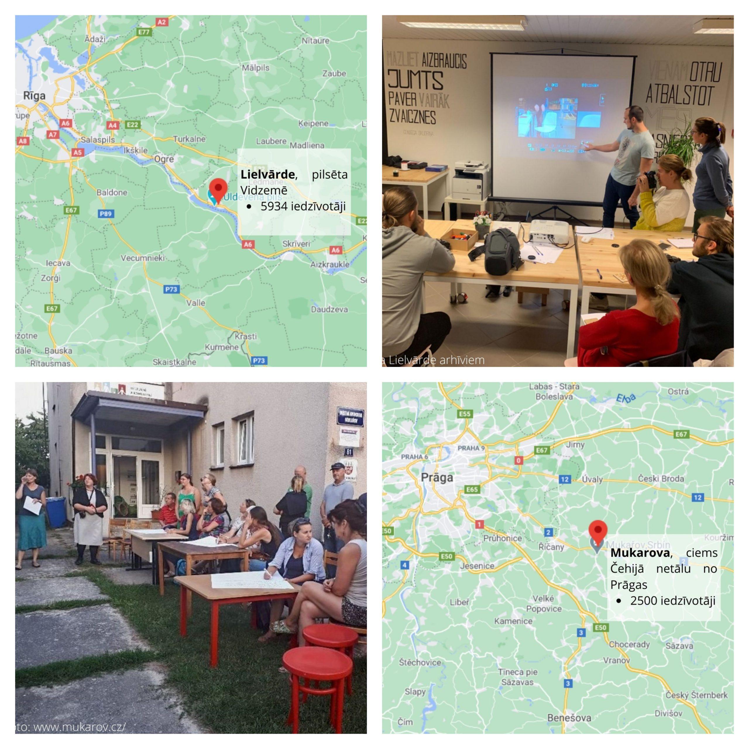 Lielvārde un Mukarova – viedie ciemi ar pilsētvides klātbūtni 
