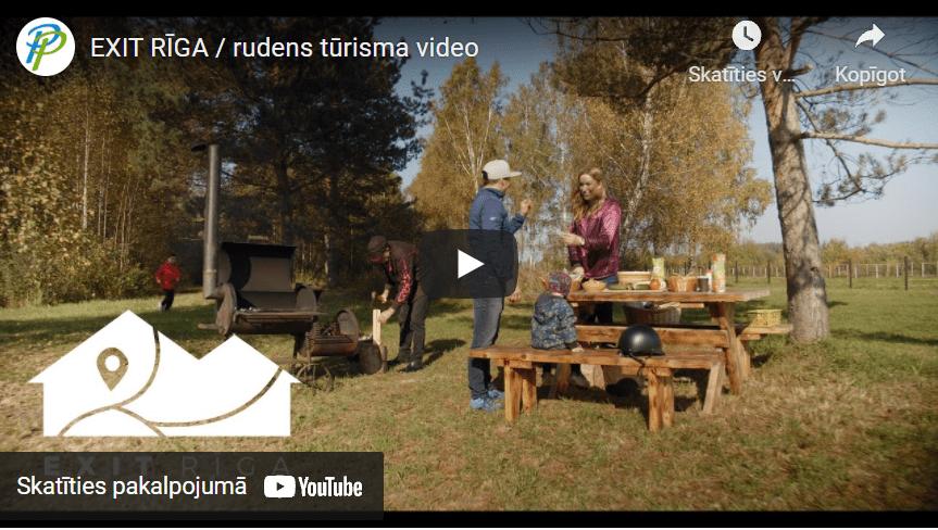 VIDEO: Baudi skaistās rudens dienas Pierīgā!